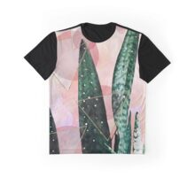 Plant circles & triangles Graphic T-Shirt