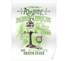 Absinthe the Green Fairy Poster