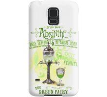 Absinthe the Green Fairy Samsung Galaxy Case/Skin