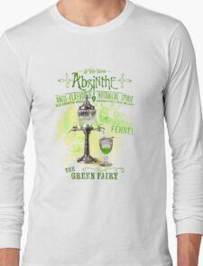 Absinthe the Green Fairy Long Sleeve T-Shirt