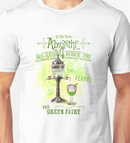 Absinthe the Green Fairy Unisex T-Shirt