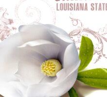 Louisiana Magnolia Sticker