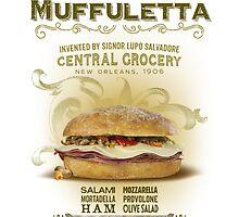 Muffuletta Sandwich by midnightboheme