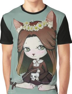 Cat Puppet - Creepy but cute Graphic T-Shirt
