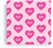 Die Antwoord Style ZEF Design. Canvas Print