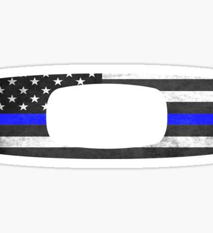 Oakley Thin Blue Line Sticker