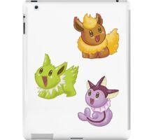 Eeveelution Shinies - Set 1 iPad Case/Skin