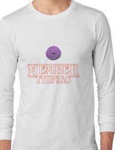 Member Things Long Sleeve T-Shirt