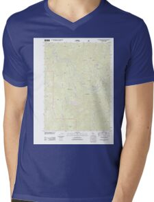 USGS TOPO Map California CA Canthook Mountain 20120323 TM geo Mens V-Neck T-Shirt