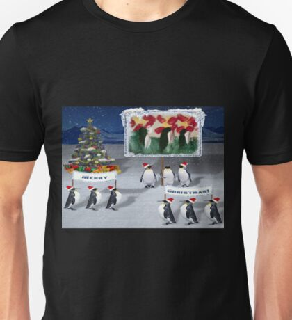 A Chilly Willy Christmas....... Unisex T-Shirt