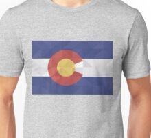 Fractal Colorado  Unisex T-Shirt