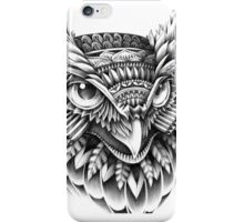 Ornate Owl Head iPhone Case/Skin