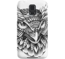 Ornate Owl Head Samsung Galaxy Case/Skin