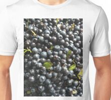 Blue Blueberry Mania Unisex T-Shirt