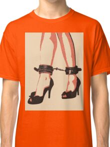 Heels and special jewelry, playing submission game Classic T-Shirt