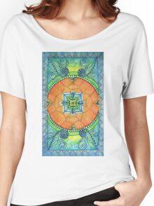 Zendala, Mandala of Color Women's Relaxed Fit T-Shirt