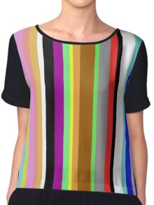 Say It With Stripes Chiffon Top