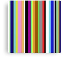 Say It With Stripes Canvas Print