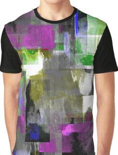 Vivid Texture Graphic T-Shirt