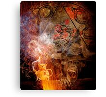 I Don't Want To Evolutionate. Canvas Print