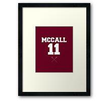McCall 11 Framed Print