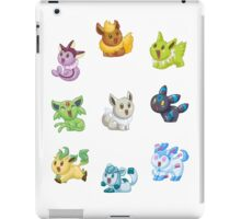 Teenies - Shiny Eeveelutions! iPad Case/Skin