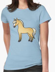 Norwegian Fjord Cartoon Horse T-Shirt