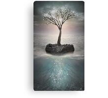 The Roots Below the Earth (Tree of Solitude) Canvas Print
