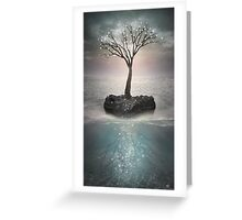 The Roots Below the Earth (Tree of Solitude) Greeting Card