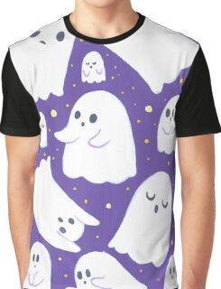 Spooky Ghosts Graphic T-Shirt