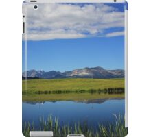 Reflections of the Rockies iPad Case/Skin