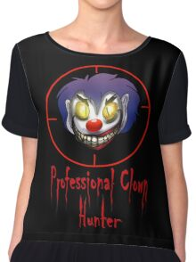 Professional Clown Hunter Chiffon Top