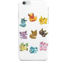 Teenies - Eeveelutions! iPhone Case/Skin
