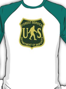 US Forest Service Bigfoot  T-Shirt