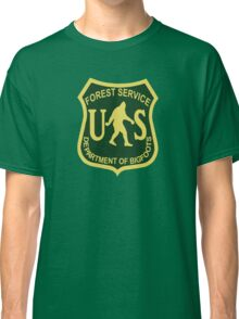 US Forest Service Bigfoot  Classic T-Shirt