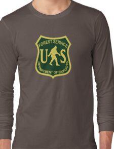 US Forest Service Bigfoot  Long Sleeve T-Shirt