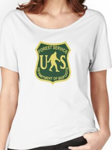 US Forest Service Bigfoot  Women's Relaxed Fit T-Shirt