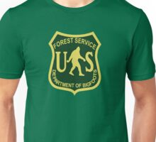 US Forest Service Bigfoot  Unisex T-Shirt
