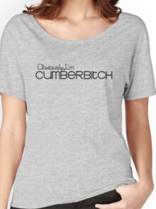 Obviously I'm Cumberbitch Women's Relaxed Fit T-Shirt