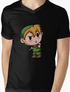 Final Fantasy Chibies - Theif! Mens V-Neck T-Shirt