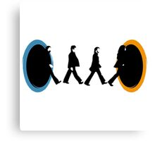 Beatles Portal Canvas Print