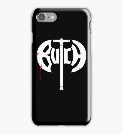 Butch Axe (white) iPhone Case/Skin