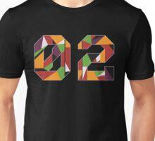 Evangelion Unit 02 Mosaic Unisex T-Shirt