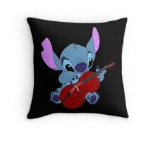 Stitch and a cello - requested  Throw Pillow