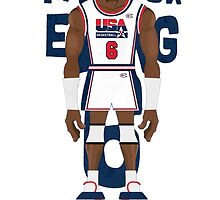 Patrick Ewing Team USA by samjones24