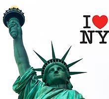 I love New York by AlexFHiemstra