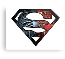 Spidey Superman Metal Print