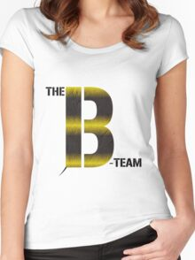 The B Team Bee Women's Fitted Scoop T-Shirt