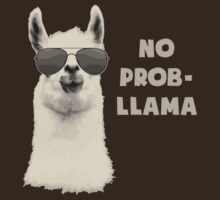 No Problem Llama by TheShirtYurt
