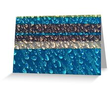 WET WET WET, this is how you do a wet tee shirt! Greeting Card